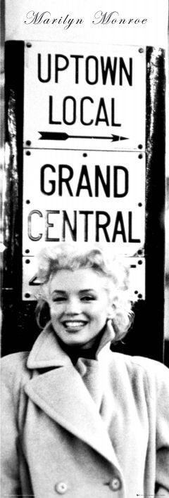 Juliste Marilyn Monroe - grand central