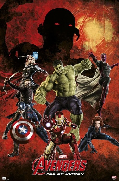Juliste Marvel - Avengers age of Ultron