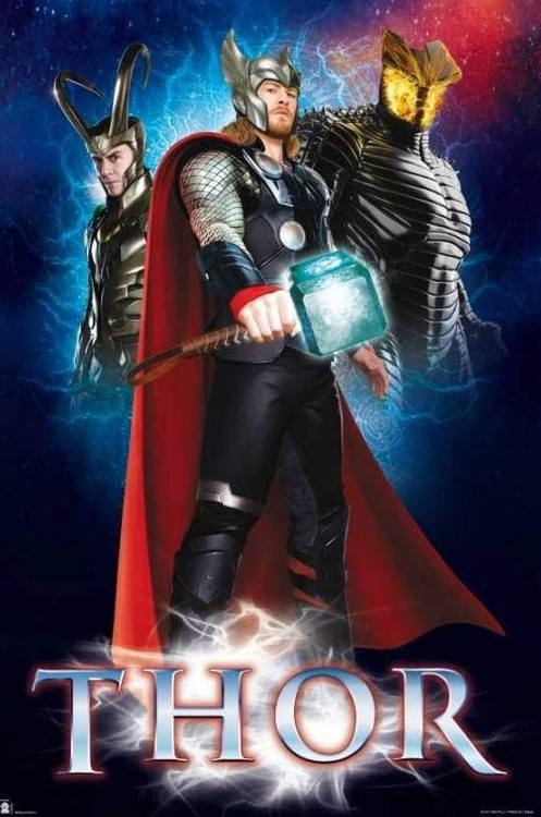 Juliste Marvel - Thor