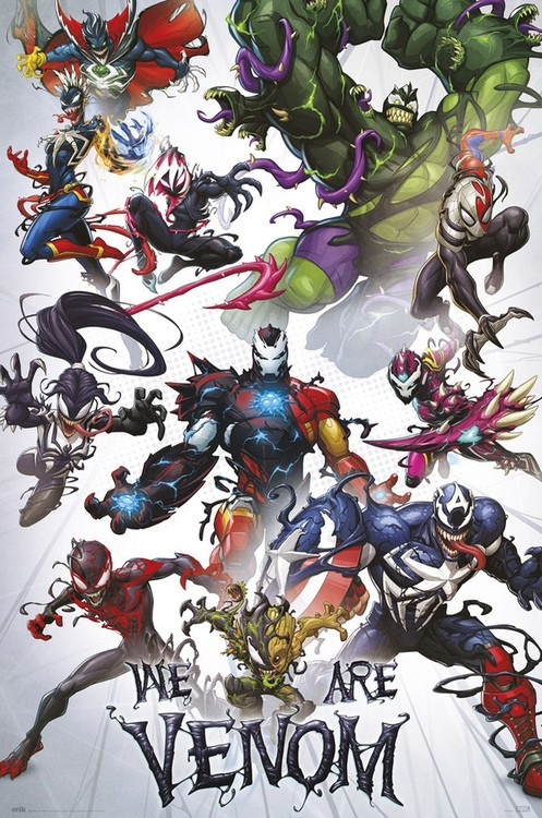 Juliste Marvel - We Are Venom