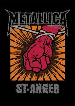 Juliste Metallica – St. Anger