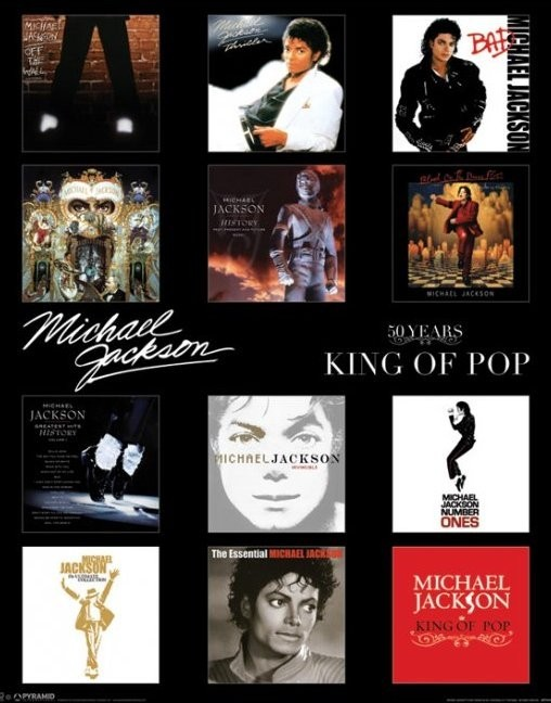Juliste MICHAEL JACKSON - album