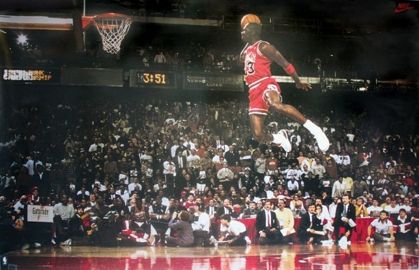 Juliste Michael Jordan - Slam Dunk Contest