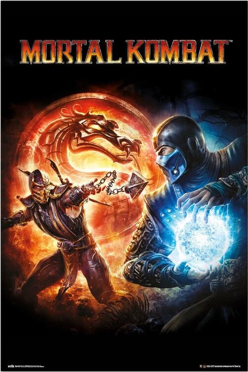 Juliste Mortal Kombat 9