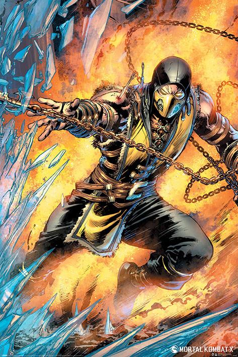Juliste Mortal Kombat - Scorpion