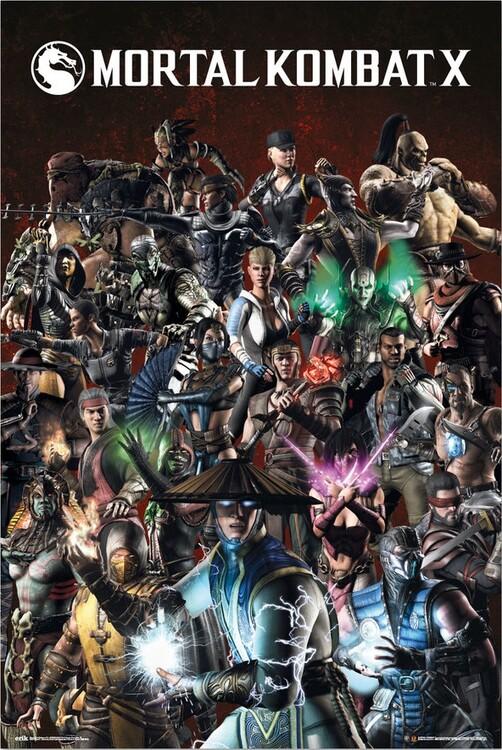 Juliste Mortal Kombat X