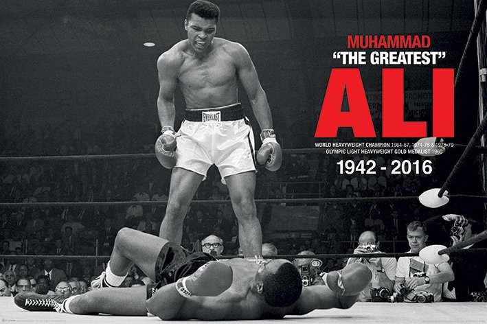 Juliste Muhammad Ali - Ali Vs Liston