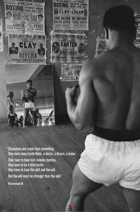 Juliste  Muhammad Ali - gym