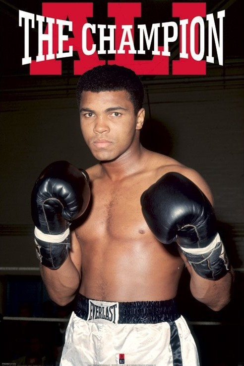 Juliste Muhammad Ali – winner