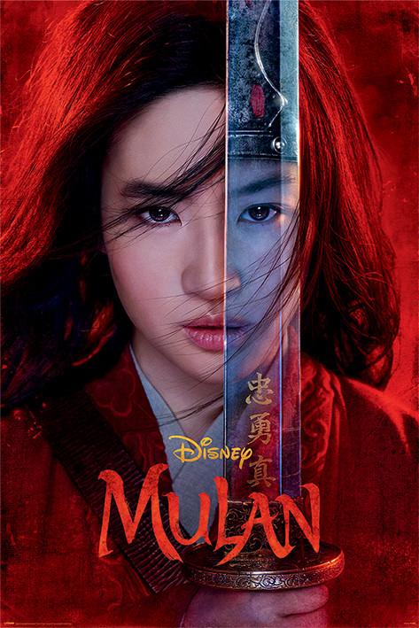 Juliste Mulan - Be Legendary