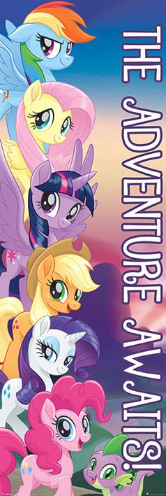 Juliste  My Little Pony: Elokuva - The Adventure Awaits