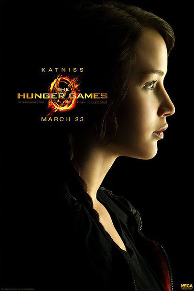 Juliste NÄLKÄPELI - HUNGER GAMES - Katniss Everdeen