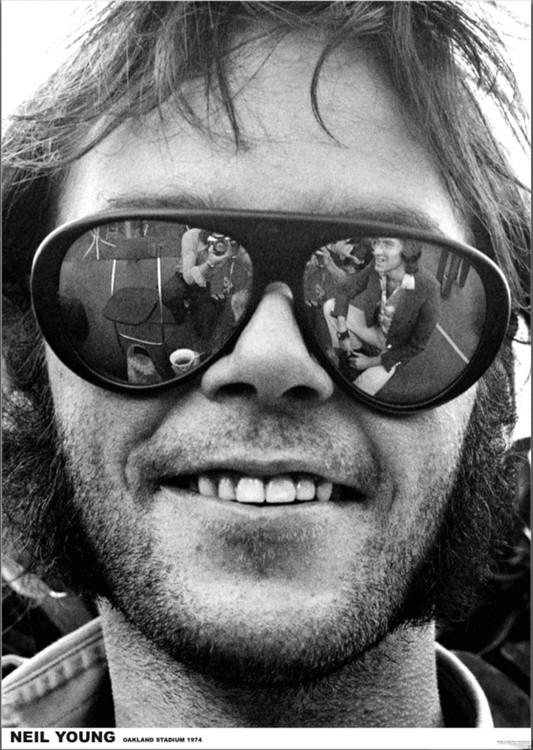 Juliste  Neil Young - Oakland 1974