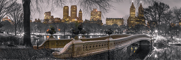 Juliste  New York - Bow Bridge Central Park