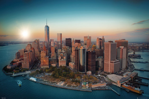 Juliste New York - Freedom Tower Manhattan