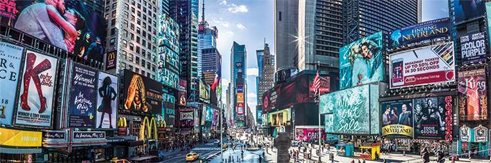 Juliste New York - Times Square Panoramic