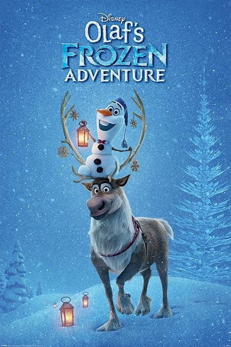 Juliste Olafs Frozen Adventure - One Sheet
