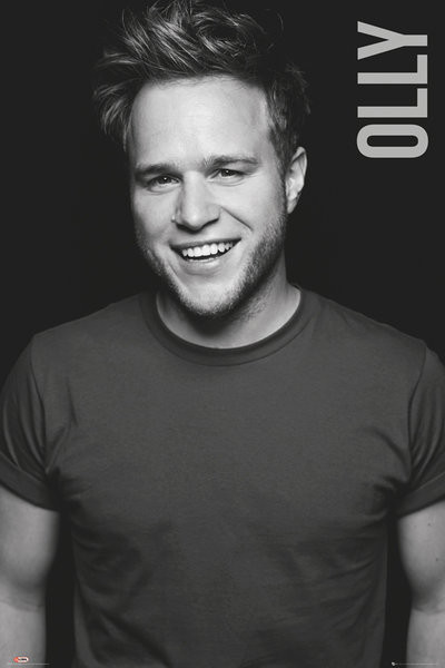 Juliste Olly Murs - Black and White