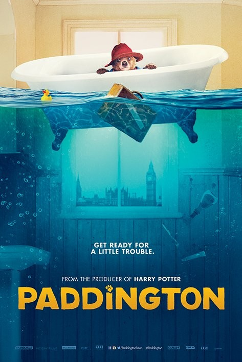 Juliste Paddington - Bath