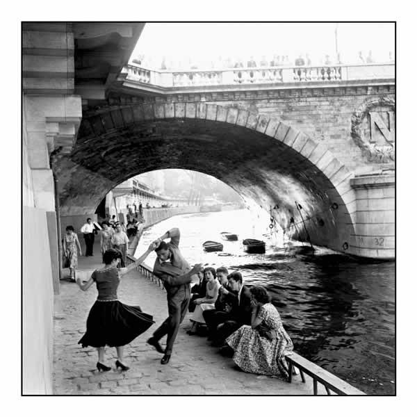Juliste  Pariisi - rock & roll