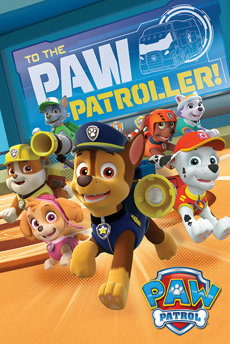 Juliste Paw Patrol - To The Paw Patroller