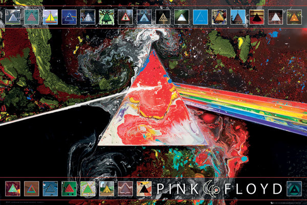 Juliste Pink Floyd - 40th Anniversary