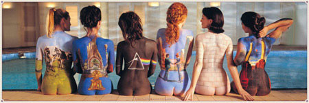Juliste  Pink Floyd - back catalogue