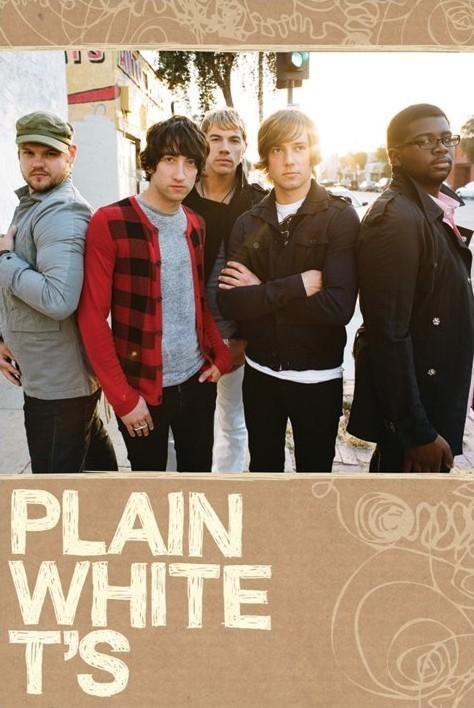 Juliste Plain White Ts