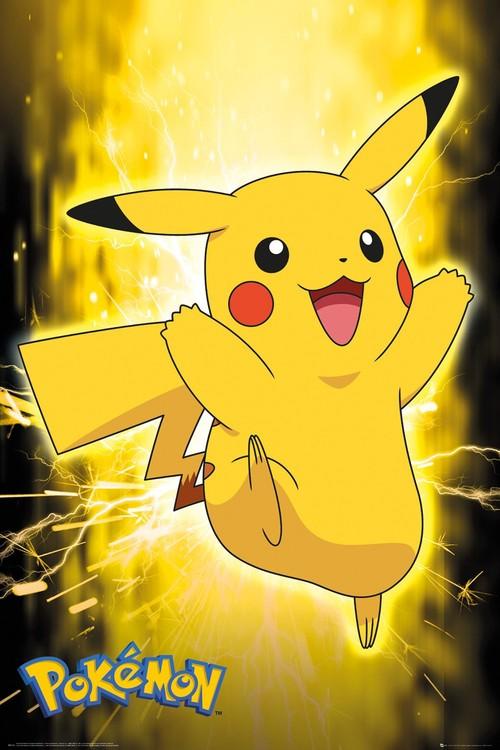 Juliste  Pokemon - Pikachu Neon