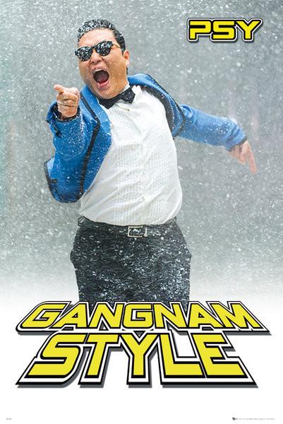 Juliste PSY - gangnam snow