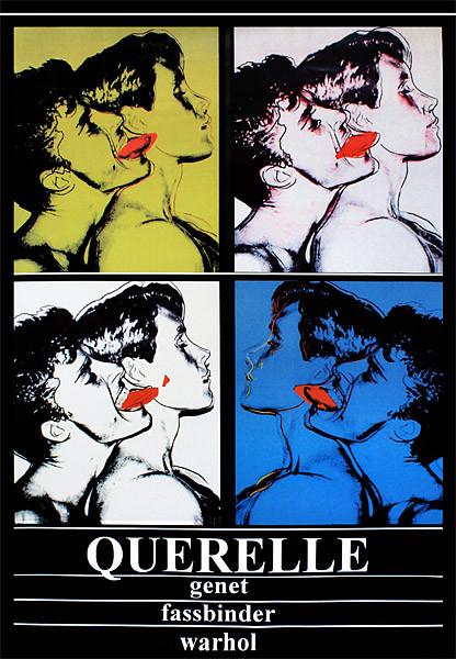 Juliste Querelle - Genet, Fassbinder, Andy Warhol