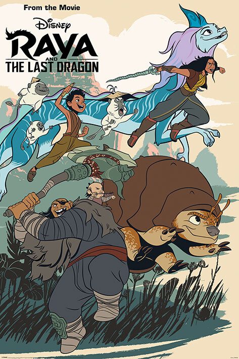 Juliste Raya and the Last Dragon - Jumping into Action