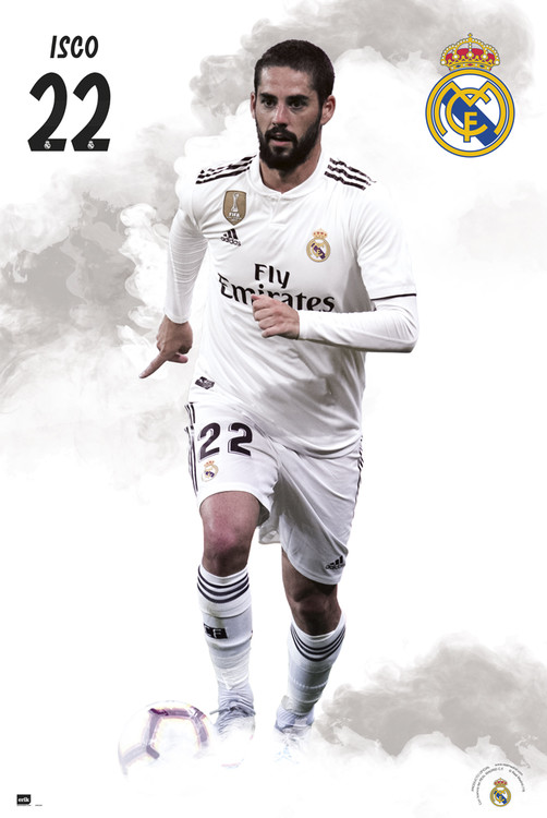 Juliste  Real Madrid 2018/2019 - Isco