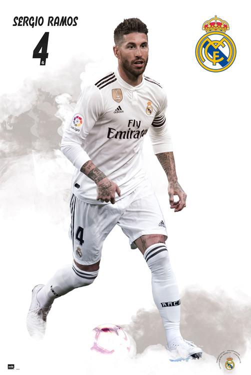 Juliste  Real Madrid 2018/2019 - Sergio Ramos