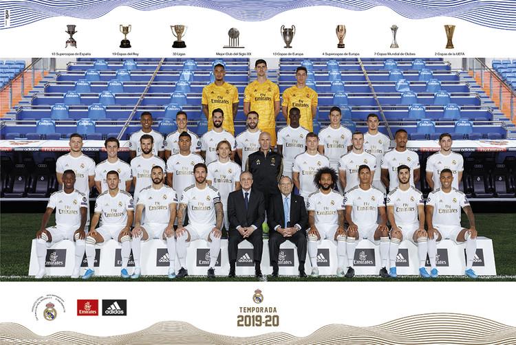Juliste Real Madrid 2019/2020 - Team