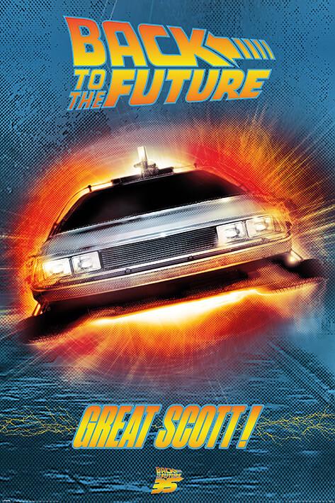 Juliste Regreso al futuro - Great Scott