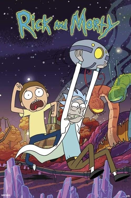 Juliste Rick & Morty - Planet