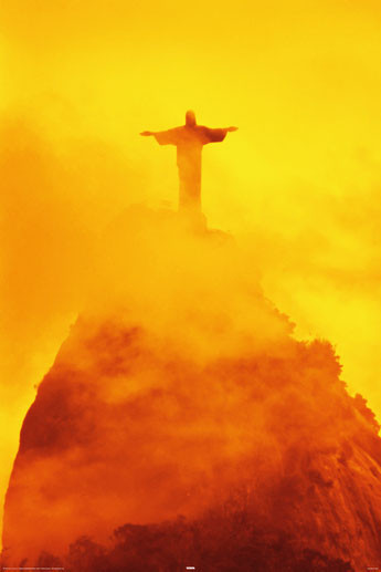 Juliste Rio de Janeiro - christ the redeemer
