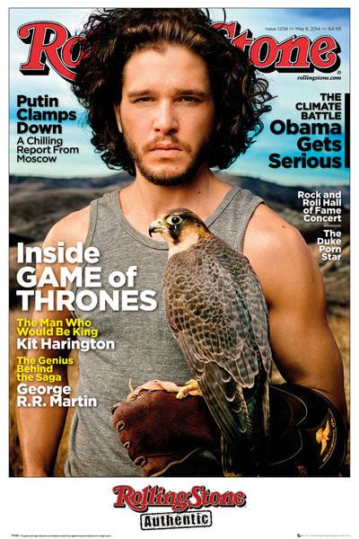 Juliste Rolling Stone - Game of Thrones Jon Stark