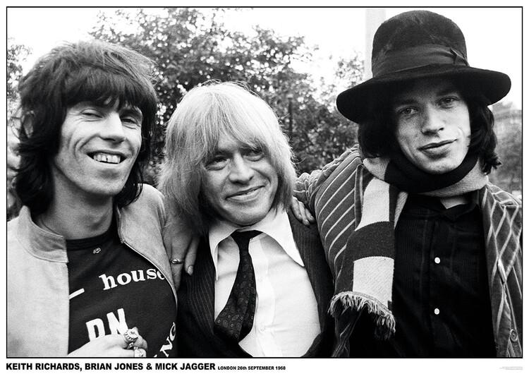 Juliste Rolling Stones - London 1968