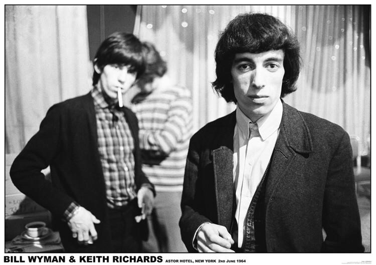 Juliste Rolling Stones - New York 1964