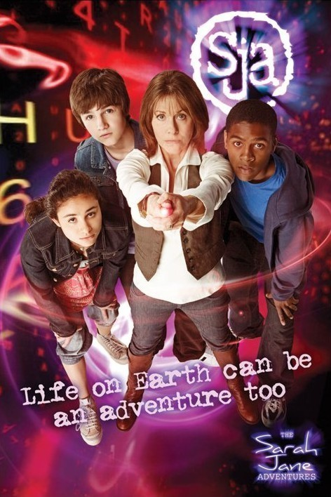 Juliste SARAH JANE ADVENTURES