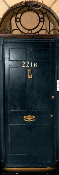 Juliste Sherlock - 221b Door