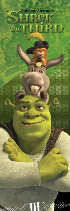 Juliste SHREK 3