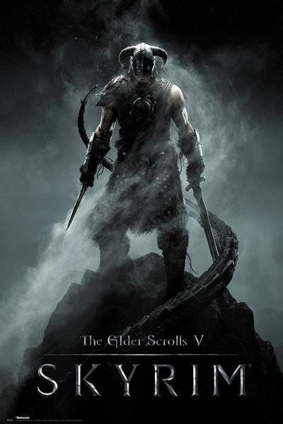 Juliste Skyrim - Dragonborn