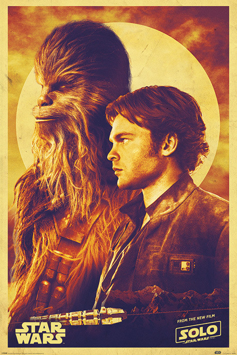 Juliste Solo: A Star Wars Story - Han and Chewie