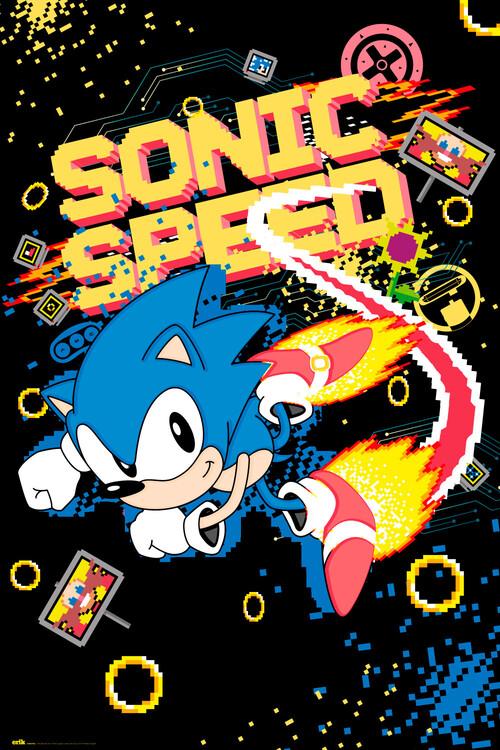 Juliste Sonic the Hedgehog - Speed