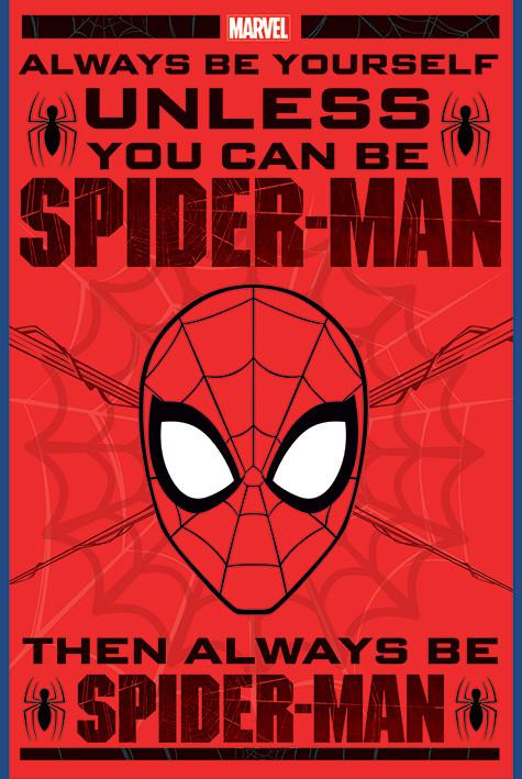 Juliste  Spider-Man - Always Be Yourself