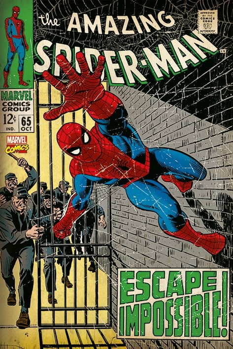 Juliste  Spiderman - Escape Impossible