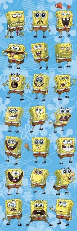 Juliste Spongebob - expressions